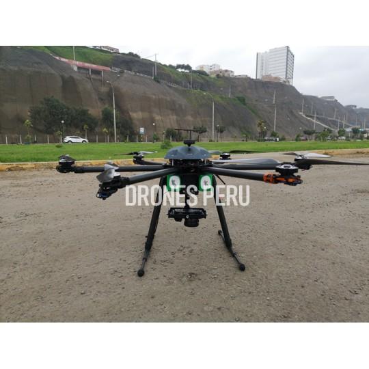 Drone Hexacopter V2.0 RTK Topografico - 5km - 24MP